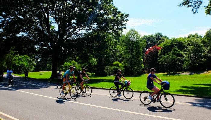 Fahrradfahren in New York