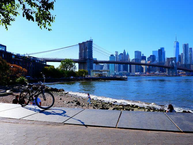 Fahrrad mieten in New York - Brooklyn Bridge