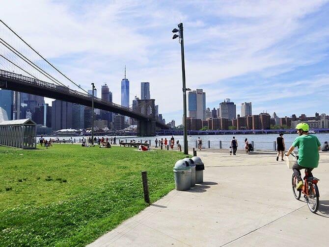 Fahrrad mieten in New York - Fahrradfahren in Brooklyn