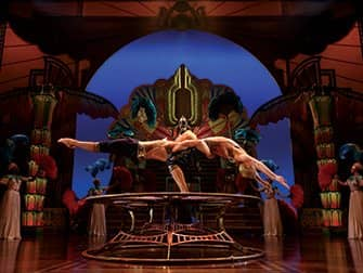 Cirque du Soleil in New York Tickets - Balanceakt