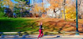 Joggen in New York