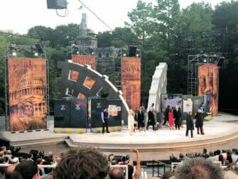 Shakespeare in the Park in New York - Zuschauer