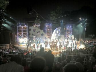 Shakespeare in the Park in New York - Das Ende der Show
