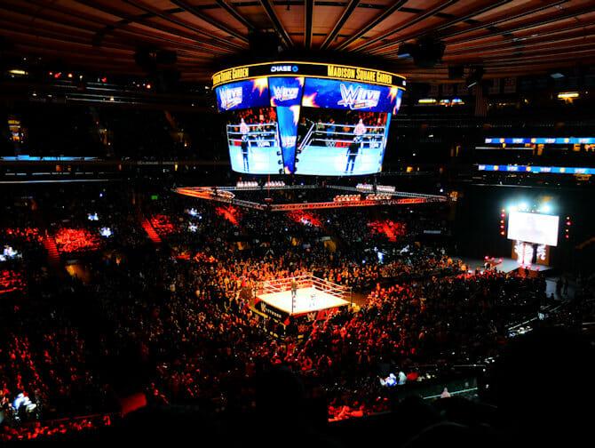 WWE Wrestling Tickets in New York - Zuschauer