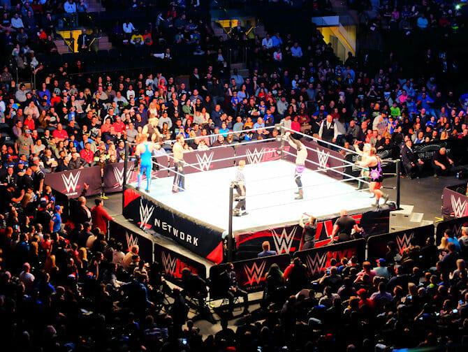 WWE Wrestling Tickets in New York - Kampf