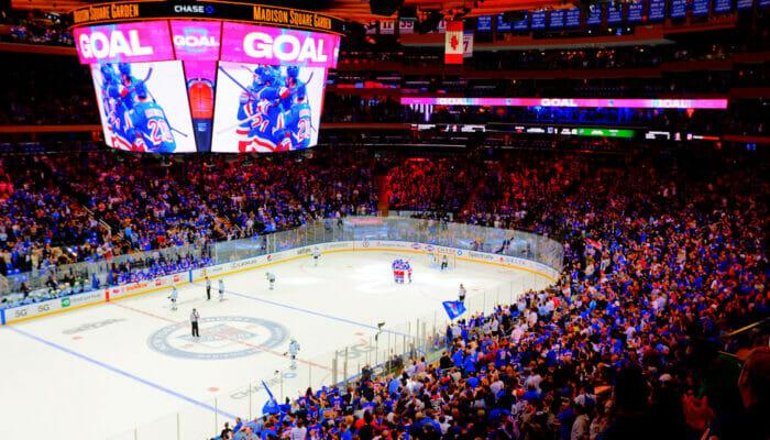 NHL Eishockey in New York
