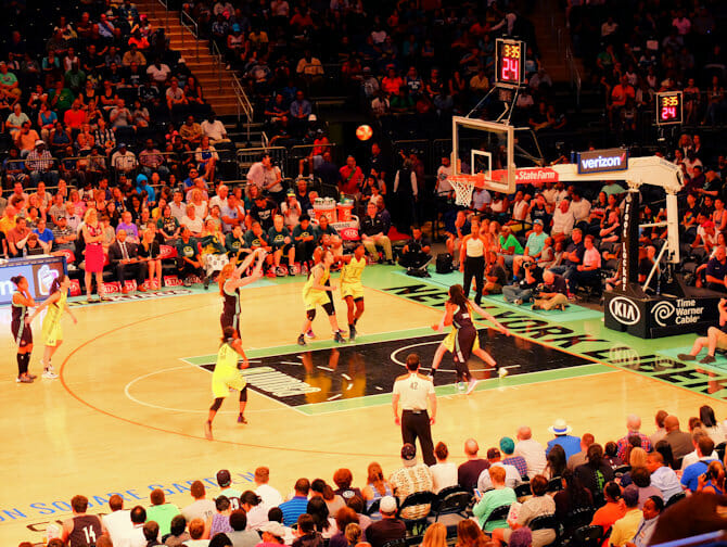 New York Liberty Basketball Tickets - Spielerinnen