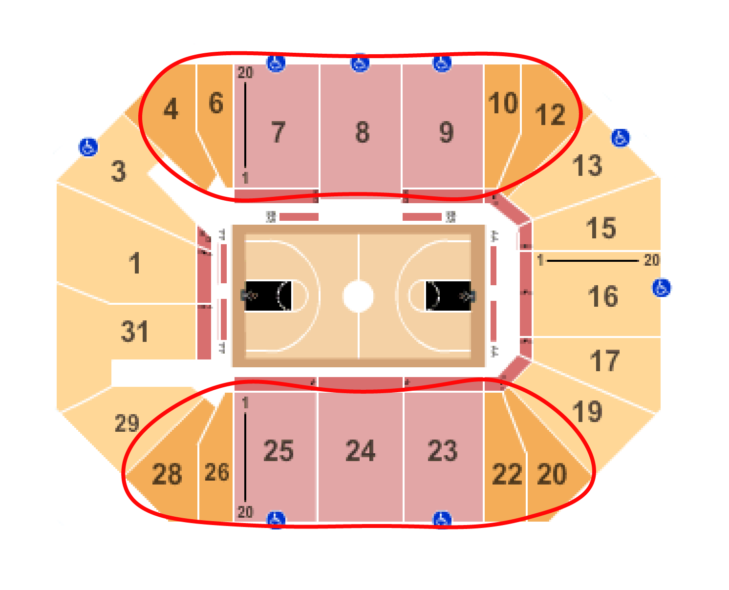 New York Liberty Basketball Tickets - Barclays Center Sitzplan