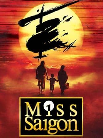 Miss Saigon am Broadway Tickets - Poster