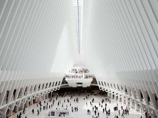 Westfield World Trade Center - Architektur
