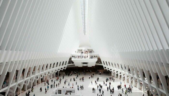 World Trade Center Transportation Hub - Im Inneren