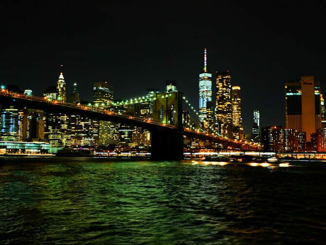 Hudson River Bootstour mit Abendessen in New York - Skyline