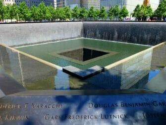 Unterschied zwischen New York Explorer Pass und New York Pass - 9/11 Memorial