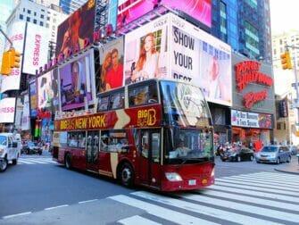 Unterschied zwischen New York Explorer Pass und New York Pass - Hop on Hop off Bus