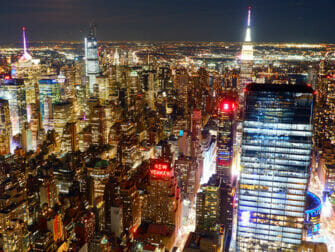 Edge Hudson Yards Observation Deck Tickets - Ausblick bei Nacht