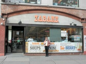 Klassische Filmtour in New York - Zabar's