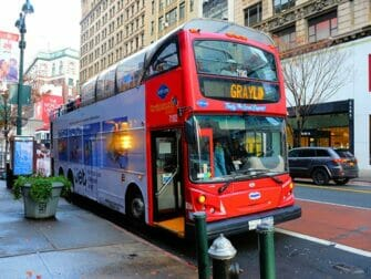 New York Sightseeing Day Pass - Hop on Hop off Bus