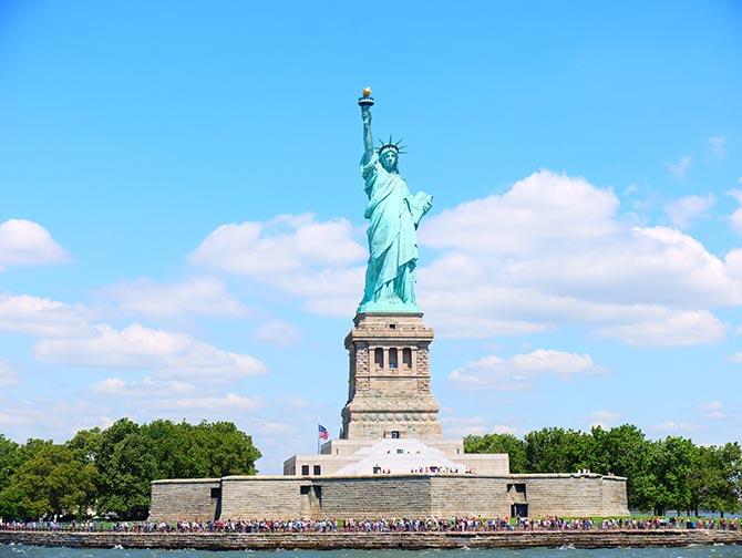 Unterschied zwischen New York Sightseeing Flex Pass und New York Explorer Pass - Freiheitsstatue