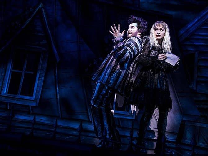 Beetlejuice am Broadway Tickets - Beetlejuice & Lydia