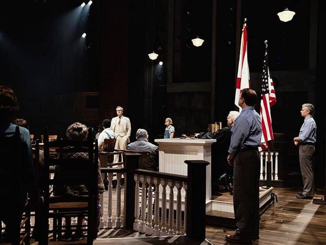 To Kill a Mockingbird am Broadway Tickets - Im Gerichtssaal