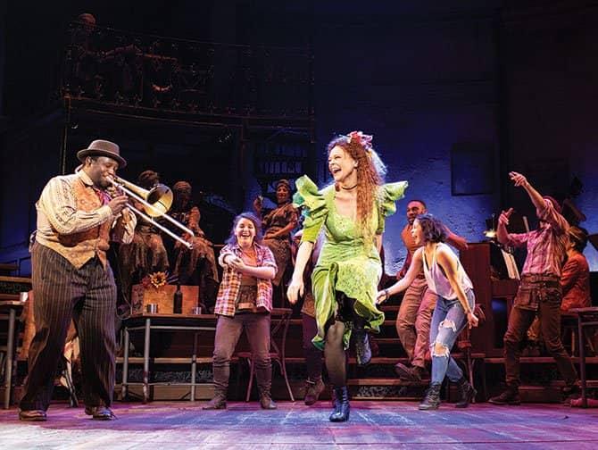 Hadestown am Broadway Tickets - Tanz