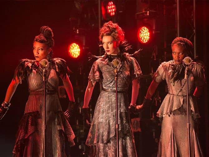 Hadestown am Broadway Tickets - Die drei Schicksalsgöttinnen
