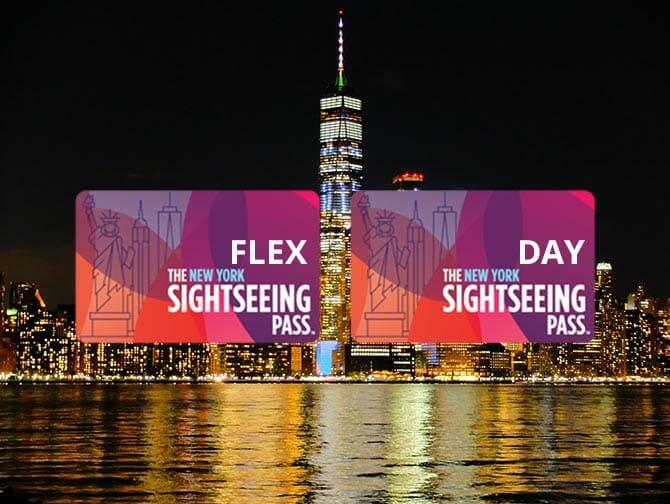 Unterschied zwischen New York Sightseeing Flex Pass und Sightseeing Day Pass