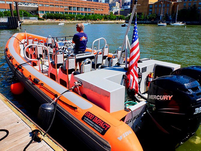 High Speed Bootstour in New York - RIB Boot