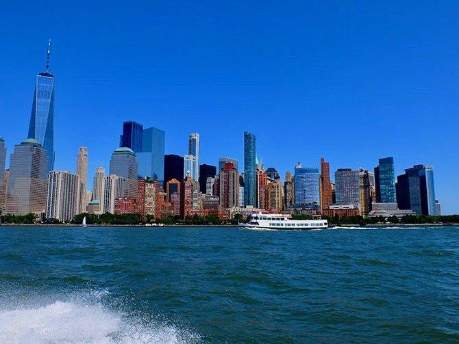 High Speed Bootstour in New York - Aussicht vom Boot aus