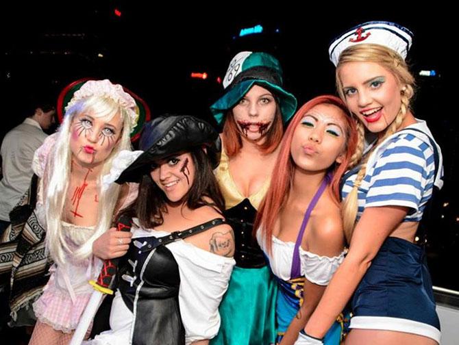 Halloween Partys in New York - Kostüme
