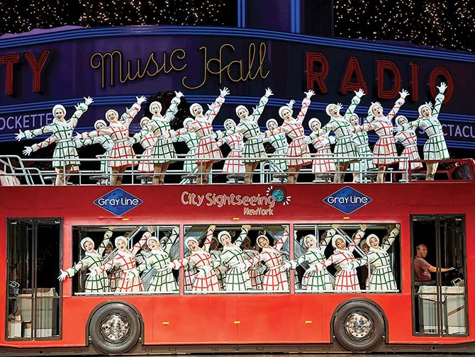 Weihnachtsshows in New York - Radio City Christmas Spectacular