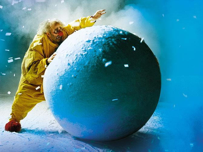 Weihnachtsshows in New York - Slava's Snowshow