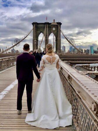 Hochzeitsfotograf in New York - Brooklyn Bridge