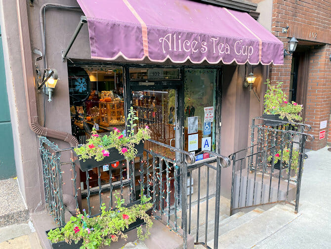 Muttertag in New York - Alice's Tea Cup
