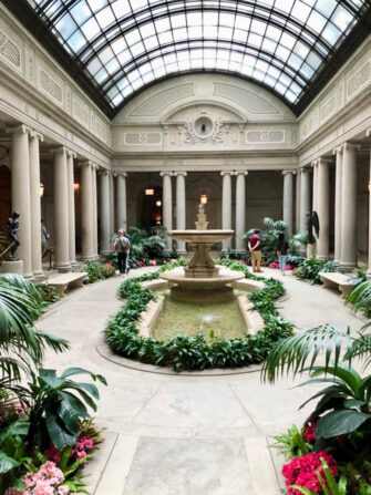 Frick Collection in New York - Atrium
