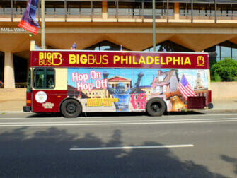 Philadelphia Passes for Attractions Hop on Hop off Bus