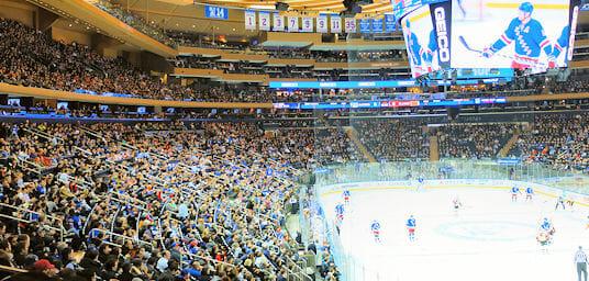 Rangers Eishockey Spiel