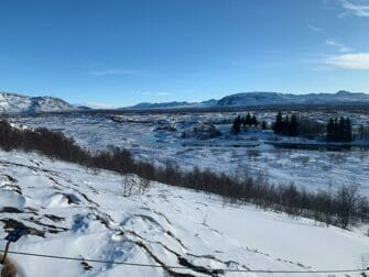 Zwischenstopp auf Island auf dem Weg nach New York Thingvellir