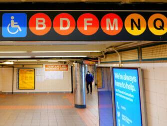Tipps für Menschen mit Behinderung in New York - U-Bahn