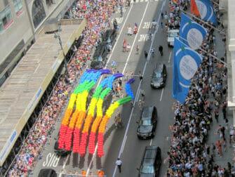 New York Gay Pride Rainbows
