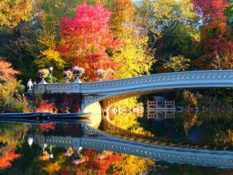 Drehorte in New York - Bow Bridge im Central Park
