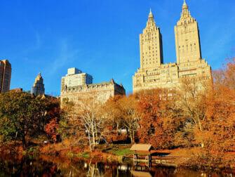 Drehorte in New York - Herbst im Central Park
