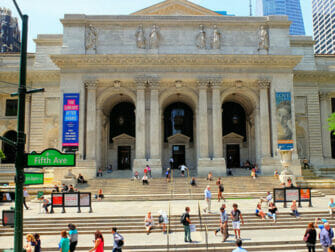 Filming Drehorte in New York - Public Library in New York in New York The Day After Tomorrow Public Library