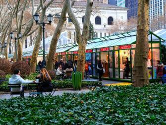 Weihnachtsmarkt im Bryant Park