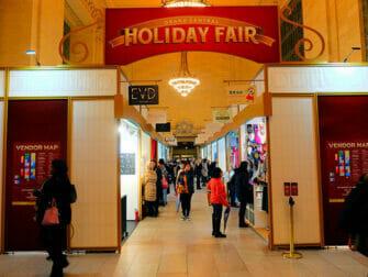 Weihnachtsmarkt im Grand Central Terminal
