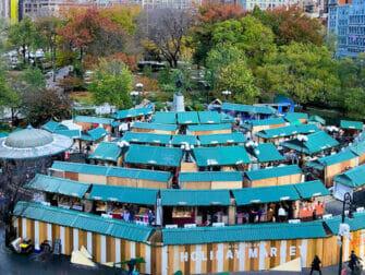 Weihnachtsmarkt am Union Square