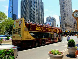 New York ohne Englischkenntnisse - Big Bus