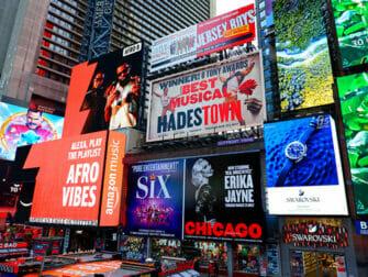 New York ohne Englischkenntnisse - Broadway Shows