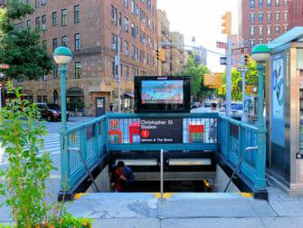 New York ohne Englischkenntnisse - U-Bahn