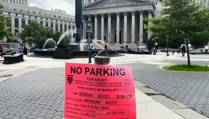 Drehorte in New York - Parkverbot